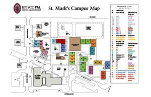St Marks campus map thumbnail