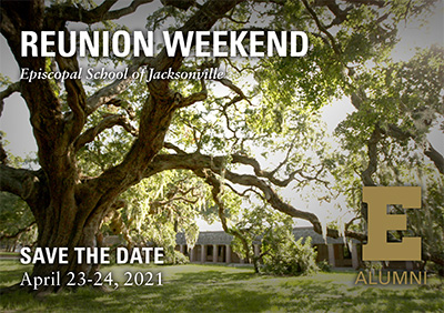 Reunion Weekend - Save the Date Postcard