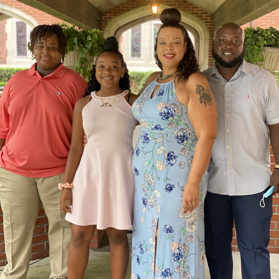 Featured First Time Donors, The Richards Family